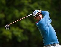 21.05.2015. Wentworth, England. BMW PGA Golf Championship. Round 1.  Mikko Ilonen [NOR] on the Par 4 3rd, during the first round of the 2015 BMW PGA Championship from The West Course Wentworth Golf Club