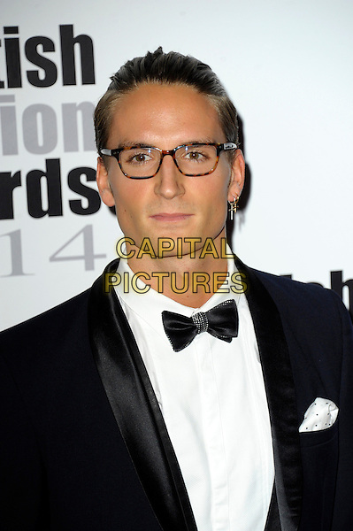 Oliver Proudlock attends The Scottish Fashion Awards held at 8  Northumberland Avenue, on September 1, 2014 in London, England. <br /> CAP/CJ<br /> &copy;Chris Joseph/Capital Pictures