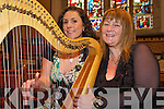 "Mary Culloty O'Sullivan, right, who will be performing in St Marys church, Killarney from Thursday (tonight) until mid September with her performance ""A Celtic Soprano"", with harpist Cait Buckley as one of her special guests........."