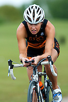 14 MAY 2010 - HOLME PIERREPONT, GBR - Jacqui Slack - VUE National Emergency Services Triathlon Championships .(PHOTO (C) NIGEL FARROW)