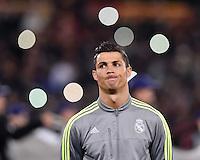 FUSSBALL CHAMPIONS LEAGUE  SAISON 2015/2016 ACHTELFINAL HINSPIEL AS Rom - Real Madrid                 17.02.2016 Cristiano Ronaldo (Real Madrid) cool