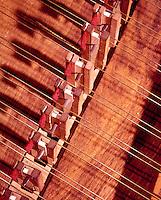 VIBRATING STRINGS<br /> Harpsichord<br /> Strings, soundboard &amp; plucking hammers.