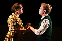 "Lizzie Muncey and Giles Cooper<br /> performs on stage in ""Toast"" at The Other Palace theatre, London<br /> <br /> ©Ash Knotek  D3490  04/04/2019"