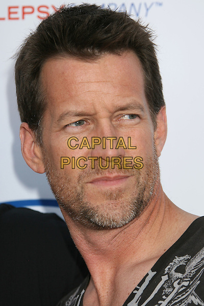 JAMES DENTON.7th Annual Comedy For A Cure benefiting The Tuberous Sclerosis Alliance held at the Avalon, Hollywood, California, USA..April 6th, 2008.headshot portrait stubble facial hair .CAP/ADM/RE.©Russ Elliot/AdMedia/Capital Pictures.