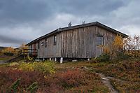 Syter hut, Kungsleden trail, Lapland, Sweden