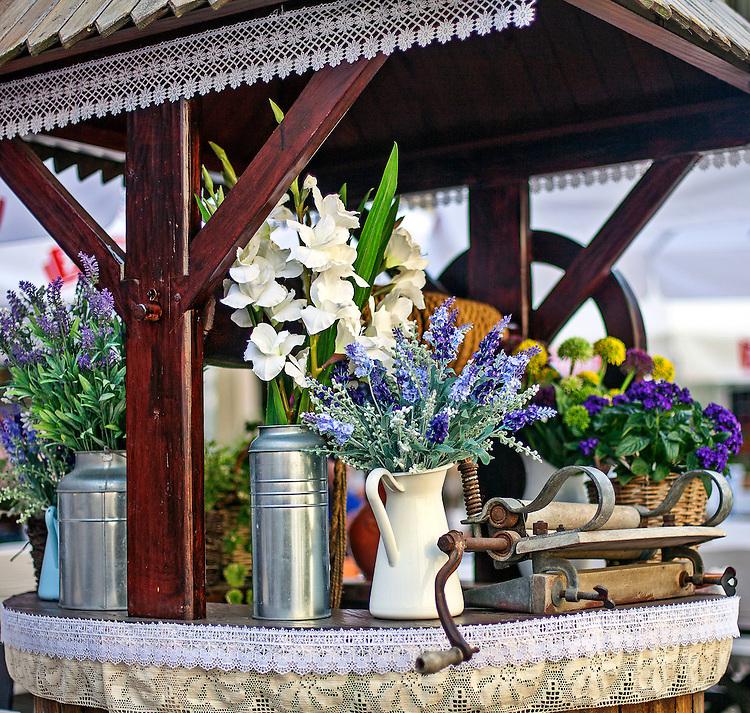 Dekoracja restauracji na lubelskim rynku