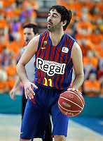 FC Barcelona Regal's Juan Carlos Navarro during Liga Endesa ACB match.November 18,2012. (ALTERPHOTOS/Acero) /NortePhoto