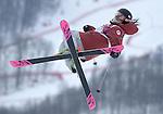 11/02/2014 - Womens Ski Slopestyle - Rosa Khutor Extreme Park - Sochi - Russia