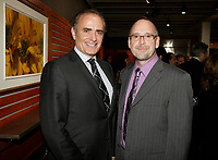 Montreal (Qc) CANADA Sept  30 2010 - Centaur Theater fundraiser Gala : Calin Rovinescu. CEO, Air Canada (L), Roy Surette (R)