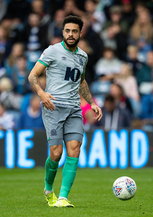 Blackburn Rovers' Derrick Williams <br /> <br /> Photographer Andrew Kearns/CameraSport<br /> <br /> The EFL Sky Bet Championship - Queens Park Rangers v Blackburn Rovers - Saturday 5th October 2019 - Loftus Road - London<br /> <br /> World Copyright © 2019 CameraSport. All rights reserved. 43 Linden Ave. Countesthorpe. Leicester. England. LE8 5PG - Tel: +44 (0) 116 277 4147 - admin@camerasport.com - www.camerasport.com