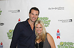As The World Turns' Austin Peck and Terri Colombino at The 24th Annual Broadway Flea Market & Grand Auction to benefit Broadway Cares/Equity Fight Aids on September 26, 2010 in Shubert Alley, New York City, New York. (Photo by Sue Coflin/Max Photos)