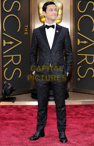 HOLLYWOOD, CA - MARCH 2: Joseph Gordon-Levitt arriving to the 2014 Oscars at the Hollywood and Highland Center in Hollywood, California. March 2, 2014. <br /> CAP/MPI/COR<br /> &copy;Corredor99/ MediaPunch/Capital Pictures