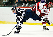Andrew Miller (Yale - 17), Brendan Rempel (Harvard - 12) - The Yale University Bulldogs defeated the Harvard University Crimson 5-1 on Saturday, November 3, 2012, at Bright Hockey Center in Boston, Massachusetts.