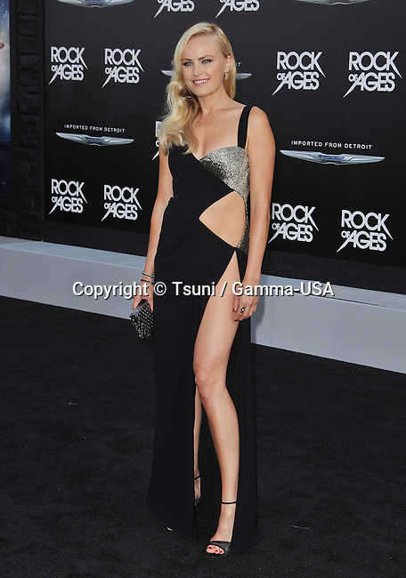 Malin Akerman  at the Rock Of Age Premiere at the Chinese Theatre In Los Angeles.