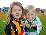 Libby and Pete Savage pictured at St Feckin's sports day. Photo: Colin Bell/pressphotos.ie