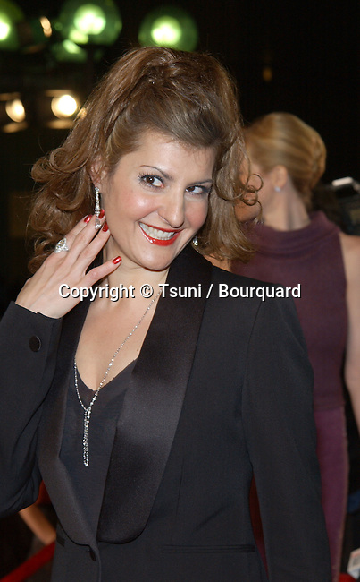 Nia Vardalos arrives at the 29th People's Choice Awards at the Pasadena Civic Auditorium in Pasadena, CA, January 12, 2003.           -            VardalosNia06.jpg