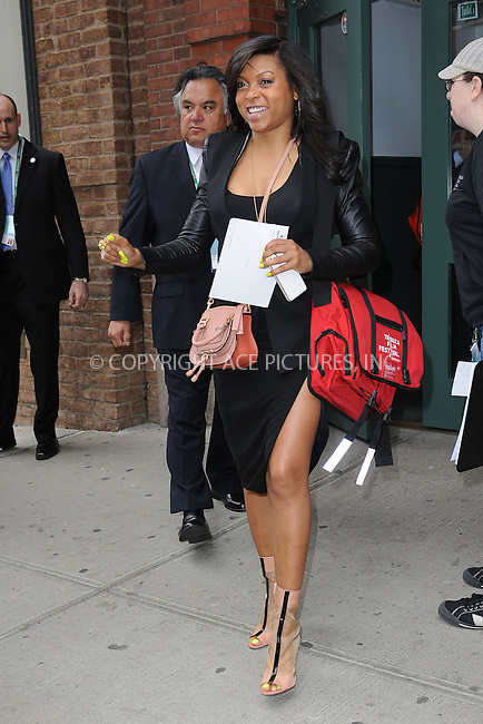 WWW.ACEPIXS.COM . . . . . .April 18, 2013...New York City....Taraji P. Henson at a lunch for the Tribeca Film Festival on April 18, 2013 in New York City ....Please byline: KRISTIN CALLAHAN - ACEPIXS.COM.. . . . . . ..Ace Pictures, Inc: ..tel: (212) 243 8787 or (646) 769 0430..e-mail: info@acepixs.com..web: http://www.acepixs.com .