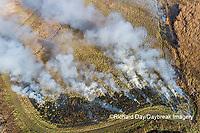 63863-03001 Prescribed Burn by IDNR Prairie Ridge State Natural Area Marion Co. IL