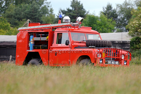 T.A.C.R.1 Fire Engine (Truck Airfield Crash Rescue). Dunsfold Collection Open Day 2009. NO RELEASES AVAILABLE.