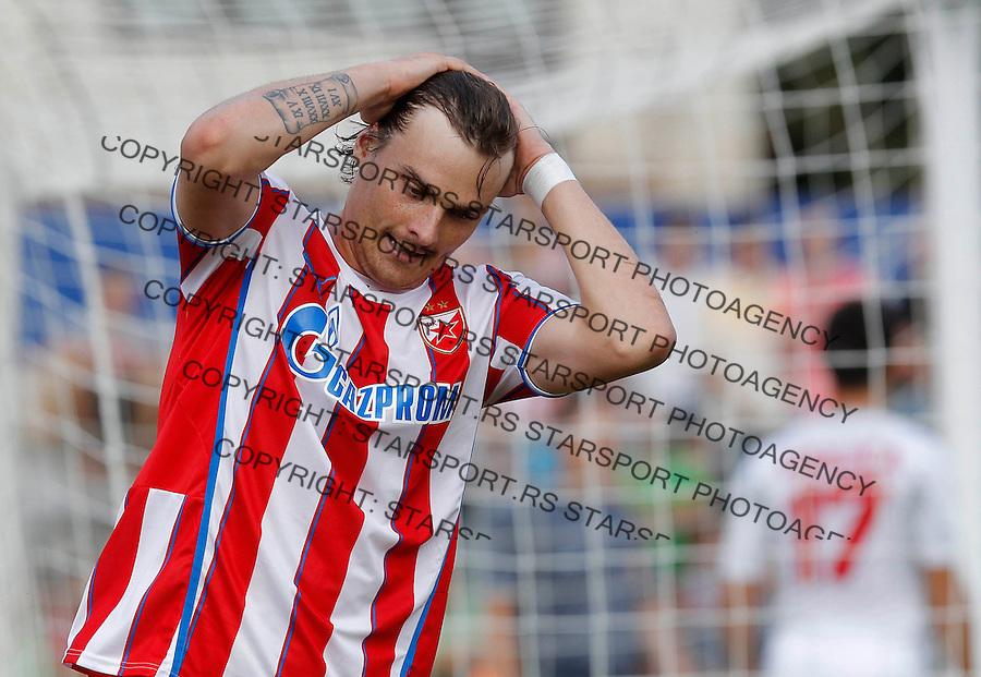 Fudbal Super liga season 2013-2014<br /> Javor v Crvena Zvezda <br /> Nejc Pecnik<br /> Ivanjica, 11.08.2013.<br /> foto: Srdjan Stevanovic/Starsportphoto &copy;