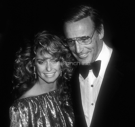 Farrah Fawcett and Richard Anderson 1978<br /> Photo By Adam Scull/PHOTOlink.net/MediaPunch