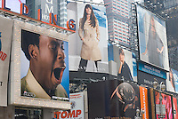 AVAILABLE FROM JEFF AS A FINE ART PRINT.<br /> <br /> AVAILABLE FROM JEFF FOR EDITORIAL LICENSING ONLY INSIDE A PUBLICATION.....NOT AVAILABLE FOR COMMERCIAL/ADVERTISING LICENSING BECAUSE THE IMAGE IS NOT MODEL OR PROPERTY RELEASED<br /> <br /> Advertising Billboards in Times Square, New York City, New York State, USA....EDITORIAL USE ONLY - NOT RELEASED