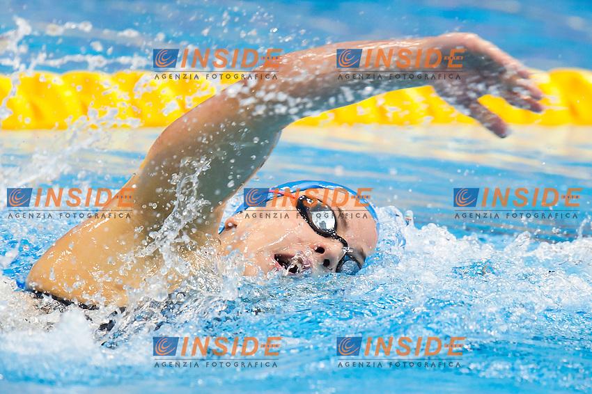 PEREZ BLANCO Jimena ESP<br /> London, Queen Elizabeth II Olympic Park Pool <br /> LEN 2016 European Aquatics Elite Championships <br /> Swimming<br /> Women's 800m freestyle preliminary  <br /> Day 10 18-05-2016<br /> Photo Giorgio Perottino/Deepbluemedia/Insidefoto