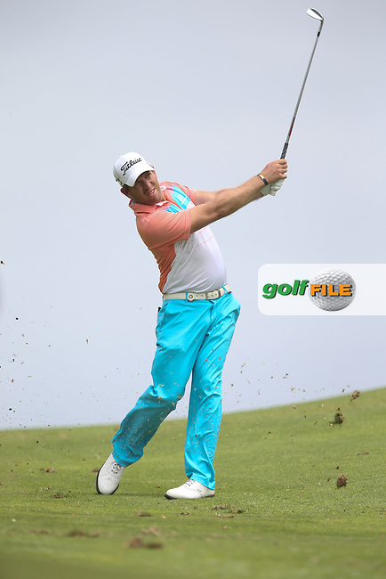 Oliver Bekker (RSA) on the last during Round Two of the Africa Open 2015 at the East London Golf Club, East London, Eastern Cape, South Africa. Picture:  David Lloyd / www.golffile.ie. 06/03/2015