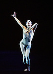 English National Ballet. Sphinx. Tamara Rojo against a black background