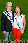 Danny Leane and Joan Lowe. contestants at the Austin Stacks GAA club Launch of Strictly Come Dancing 2015 at the Festival Dome on Saturday 22nd  August at 8pm