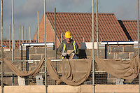 New homes being constructed by Bryant Homes in Kings Lynn, Norfolk.