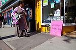 Shops and street scenes along Queen West in Toronto
