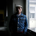 "Carlos, Peruvian. He came to Italy  to join his sons. He now lives in a single room of the former hospital ""Regina Elena"""