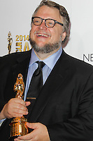 PASADENA, CA, USA - OCTOBER 10: Guillermo del Toro poses in the press room at the 2014 NCLR ALMA Awards held at the Pasadena Civic Auditorium on October 10, 2014 in Pasadena, California, United States. (Photo by Celebrity Monitor)