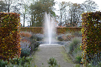 Fountain in the perennial meadow