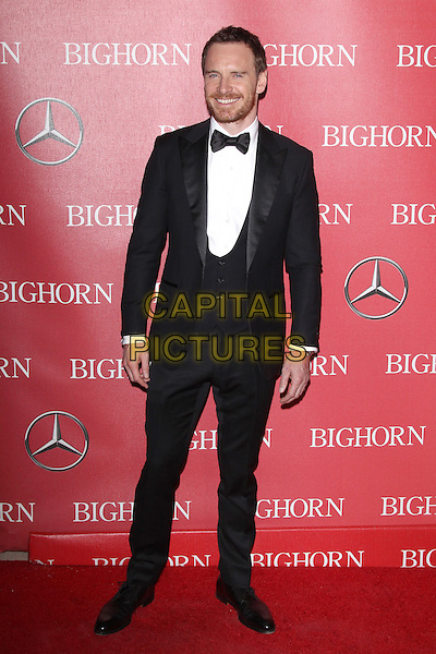 PALM SPRINGS, CA - JANUARY 2: Michael Fassbender at the 27th Annual Palm Springs International Film Festival Awards Gala at Palm Springs Convention Center on January 2, 2016 in Palm Springs, California. <br /> CAP/MPI24<br /> &copy;MPI24/Capital Pictures