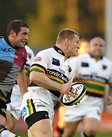 Twickenham. GREAT BRITAIN, Saints, Darren Foxrunning with the ball,  during the, Guinness Premiership game between, NEC Harlequins and Northamption Saints, on Sat., 04/11/2006, played at the Twickenham Stoop, England. Photo, Peter Spurrier/Intersport-images].....