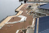 1983 April 18..Redevelopment.Downtown South (R-9)..WATERSIDE.CONSTRUCTION PROGRESS....NEG#.NRHA#..