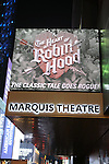 'The Heart of Robin Hood' - Theatre Marquee