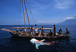 Indonesia whale shark hunting Lamalera