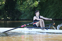 Race: 3  ELI.1x  [59]Gloucester RC - GLR-Astbury vs [60]Warwick BC - WAR-Messling<br /> <br /> Gloucester Regatta 2017 - Sunday<br /> <br /> To purchase this photo, or to see pricing information for Prints and Downloads, click the blue 'Add to Cart' button at the top-right of the page.