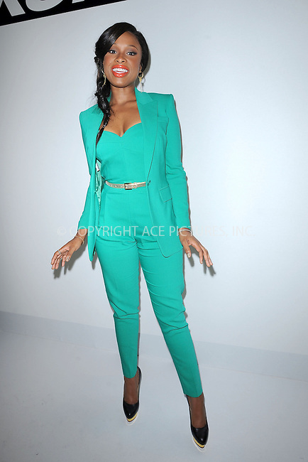 WWW.ACEPIXS.COM . . . . . .September 7, 2012...New York City.....Jennifer Hudson attends the Project Runway Spring 2013 fashion show during Mercedes-Benz Fashion Week on September 7, 2012 ...Please byline: KRISTIN CALLAHAN - ACEPIXS.COM.. . . . . . ..Ace Pictures, Inc: ..tel: (212) 243 8787 or (646) 769 0430..e-mail: info@acepixs.com..web: http://www.acepixs.com .