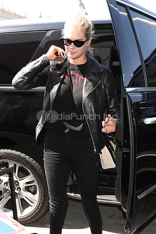 LOS ANGELES, CA - MAY 17: Kate Upton seen at LAX International Airport on May 17, 2018. Credit: John Misa/MediaPunch
