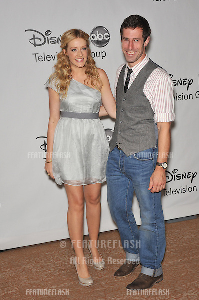 "Jennifer Finnigan & Josh Cooke - stars of ""Better Together - at the Disney ABC TV All Star Mixer at the Beverly Hilton Hotel, Beverly Hills, CA..August 1, 2010  Los Angeles, CA.Picture: Paul Smith / Featureflash"