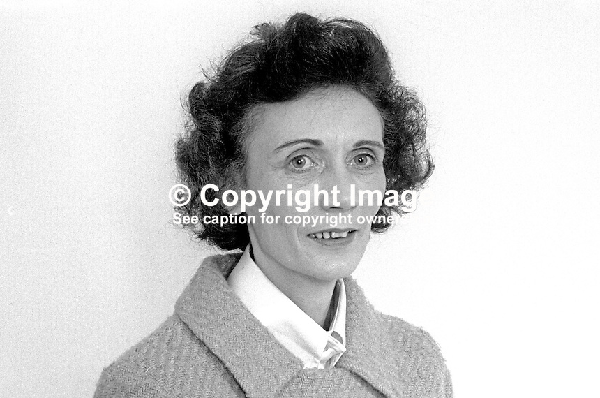 Mrs Monica Slavin, Alliance Party of N Ireland, candidate, Belfast City Council, N Ireland, UK, 197305020247<br /> <br /> Copyright Image from Victor Patterson, 54 Dorchester Park, Belfast, UK, BT9 6RJ<br /> <br /> t1: +44 28 9066 1296 (from Rep of Ireland 048 9066 1296)<br /> t2: +44 28 9002 2446 (from Rep of Ireland 048 9002 2446)<br /> m: +44 7802 353836<br /> <br /> e1: victorpatterson@me.com<br /> e2: victorpatterson@gmail.com<br /> <br /> The use of my copyright images is subject to my Terms &amp; Conditions.<br /> <br /> It is IMPORTANT that you familiarise yourself with them. They are available on my website at www.victorpatterson.com.<br /> <br /> None of my copyright images may be used on a website unless they are visibly watermarked, i.e. &copy; Victor Patterson within the body of the visible image. Metadata denoting my copyright must NOT be deleted. <br /> <br /> Web use (maximum size - 300 kb) is extra at currently recommended NUJ rates.