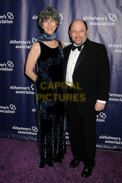 18 March 2015 - Beverly Hills, California - Daena E. Title, Jason Alexander. 23rd Annual &quot;A Night at Sardi's&quot; Benefit for the Alzheimer's Association held at The Beverly Hilton Hotel. <br /> CAP/ADM/BP<br /> &copy;BP/ADM/Capital Pictures