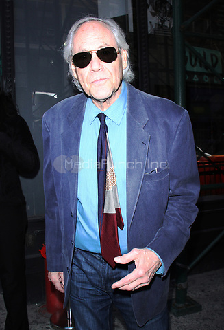 NEW YORK, NY - APRIL 14: Robert Klein seen after an appearance on AOL's Build Series in New York City on April 14, 2017. Credit: RW/MediaPunch