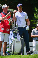 Henrik Stenson (SWE) and his caddie look over the tee shot on 2 during round 1 of the World Golf Championships, Mexico, Club De Golf Chapultepec, Mexico City, Mexico. 3/2/2017.<br /> Picture: Golffile | Ken Murray<br /> <br /> <br /> All photo usage must carry mandatory copyright credit (&copy; Golffile | Ken Murray)