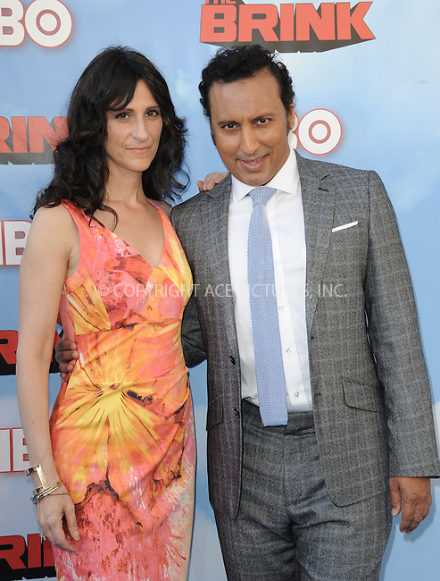 WWW.ACEPIXS.COM<br /> <br /> June 8 2015, Hollywood Ca<br /> <br /> Aasif Mandvi arriving at HBO's Brink premiere on June 8, 2015 at the Paramount Theater in Hollywood Ca.<br /> <br /> Please byline: Peter West/ACE Pictures<br /> <br /> ACE Pictures, Inc.<br /> www.acepixs.com<br /> Email: info@acepixs.com<br /> Tel: 646 769 0430