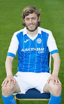 St Johnstone FC Season 2017-18 Photocall<br />Murray Davidson<br />Picture by Graeme Hart.<br />Copyright Perthshire Picture Agency<br />Tel: 01738 623350  Mobile: 07990 594431